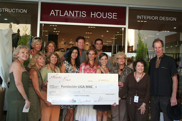 Atlantis House Fundraising for LIGAMAC foundation, LOS CABOS, MEXICO, January 20, 2011